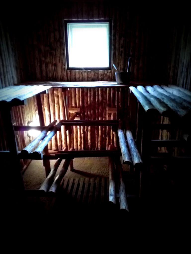 Samliku sauna leiliruum